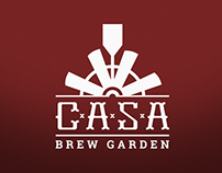 Casa Brew Garden {Branding}