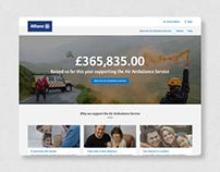 Allianz Fundraising Platform
