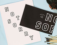 Not Sorry Issue 4: The Revival Issue