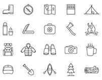 20 Adventure Vector Icons