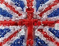 Flags. Brazil - United Kingdom