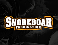Snoreboar Fabrication Logo Design