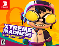 Xtrime Madness: Supersonic Jam - Racing Game for Swtch