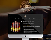 Cape Brewing Co - Craft Beer Website Design