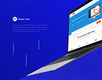 Masters India Landing Page