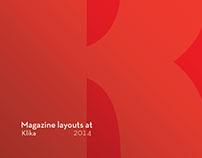 Small format Klika magazine
