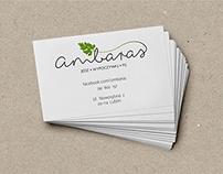 Logo design for Ambaras restaurant