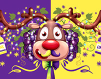 Propuesta Gráfica Navidad Uva - Link