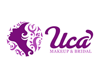 UCA MAKEUP & BRIDAL LOGO DESIGN