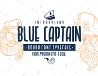 FREE BLUECAPTAIN ROUGH FONT