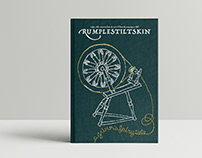 A GRIMM'S FAIRY TALE BOOKCOVER\\ rumpelstiltskin