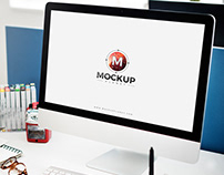 Free Computer Mockup For Website Templates