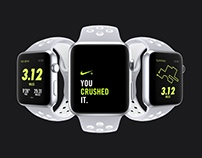 Apple Watch Nike Platinum / White