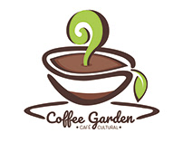 "Diseño de Logotipo ""Coffee Garden"""