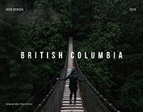 British Columbia - landing page