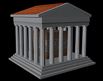 3-D Modeling Greek Theme
