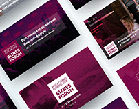 Branding and web site for Poland Business Forum