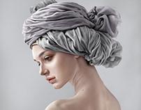 Cloth painting from Ira Bordo's photo