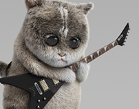 Cat and Six Strings