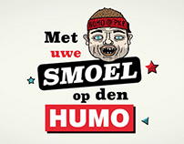 Humosmoel app - Met uwe smoel op den Humo