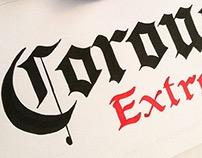 Calligraphy Logo Beer