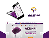Viva Lingva - Branding and Website