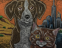 Chalkboard for Best Friends Animal Society Event