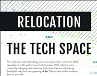 Infographic // Relocation & the Tech Space