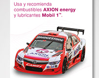 Axion energy + Mobil -Collateral material-