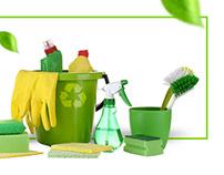 Cleaning service in Moscow landing page