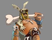 Stone Age. Animation test.