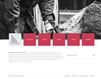 Projekty strony internetowej dla firmy lupus73