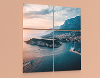 Modular paintings | Adobe Dimension