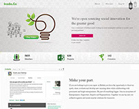 Web Design Project (Irada.Co)