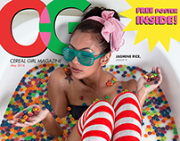 CEREAL GIRL MAGAZINE COVERS