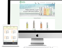 Sindsro Naturals Website Design