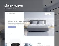 Linen wave eCommerce