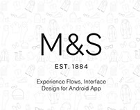 Marks & Spencer UI Design