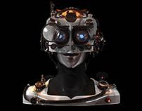 Cyborg - Character Design