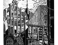 Schwarz Weiß Wismar