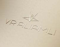 LOGO VR ALIAMLI تصميم شعار