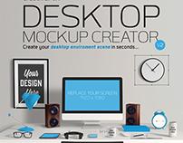 Desktop Mockup Creator V2 - Create Your Own Desktop