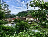 Little trip to the village of Gustave Courbet