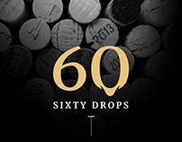 60 Drops - Online Store design / Desktop & Mobile