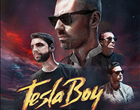 Tesla boy tour poster