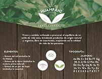 Huampaní Chacra Orgánica _ Panel Identidad Gráfica