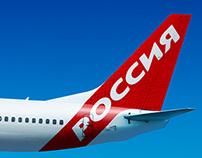 Rossiya Airlines Identity