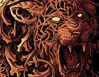 Lion, warrior's spirit
