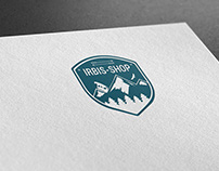 """Логотип для ИМ """"Снаряжение для туризма"""""""