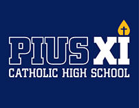Pius XI Catholic High School 15/16 Season Posters